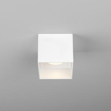 LED Deckenleuchte Osca in Weiss-Matt 7.8W 507lm eckig