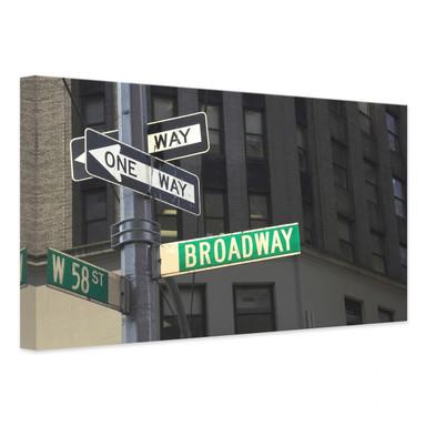 Leinwandbild Broadway