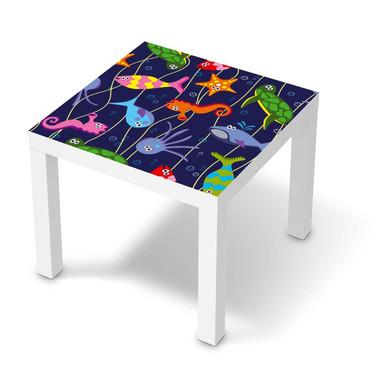 Möbelfolie IKEA Lack Tisch 55x55cm - Underwater Life