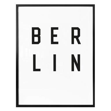 Poster - Typographie Berlin