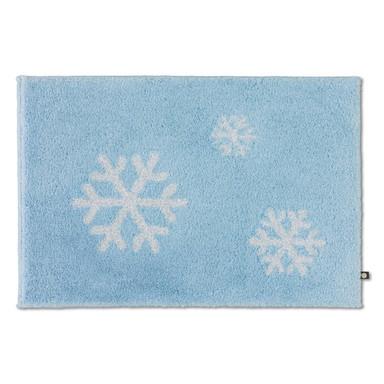 Schneeflocke Badteppich