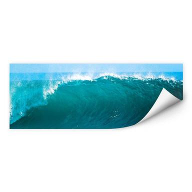 Wallprint Perfect Wave - Panorama