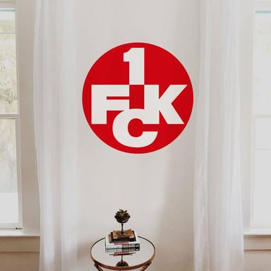 Wandsticker 1.FC Kaiserslautern Logo