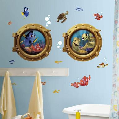 Wandsticker Disney Findet Nemo - Maxi Set Bullaugen 19-teilig - Bild 1