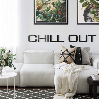Acrylbuchstaben Chill Out