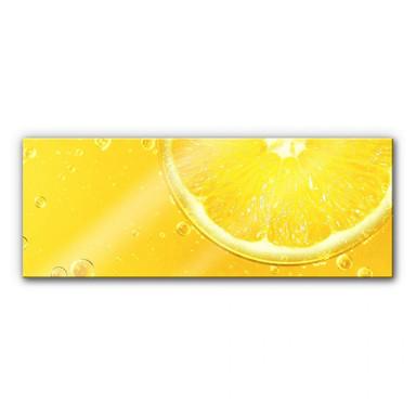 Acrylglasbild Lemon Squeezy - Panorama