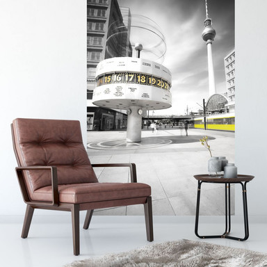 Fototapete Berlin Alexanderplatz - 144x260cm - Bild 1