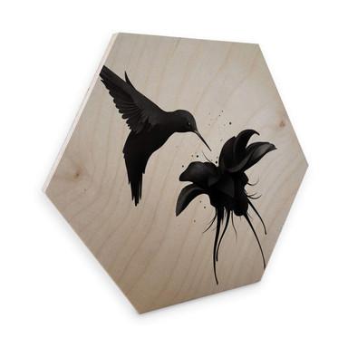 Hexagon - Holz Birke-Furnier Ireland - Chorum - Kolibri
