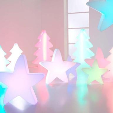 LED Stern Lumenio in Weiss RGB 500x510x130mm