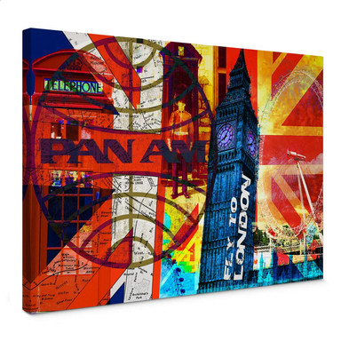 Leinwandbild PAN AM - London