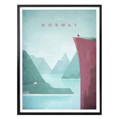 Poster Rivers - Norwegen