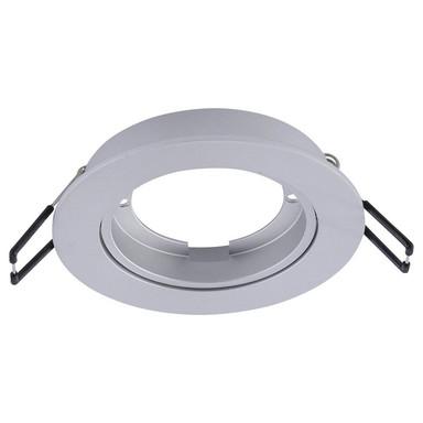 Q-Smart Einbaurahmen Q-Elli rund in Aluminium schwenkbar