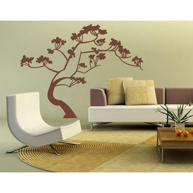 Wandtattoo Japan Baum