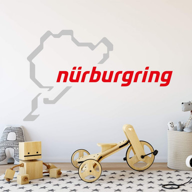 Wandtattoo Nürburgring Logo