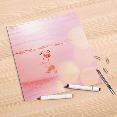 Folienbogen (30x30cm) - Mr. Flamingo