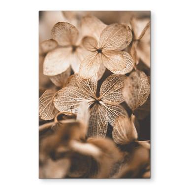 Glasbild Annie - Zarte Blüten