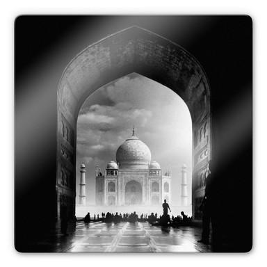 Glasbild Buhligaha - Mystical Taj Mahal