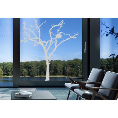 Glasdekor Winterbaum