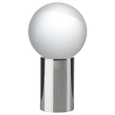LED Tischleuchte Contro in Chrom und Transparent-satiniert 3W 200lm klar