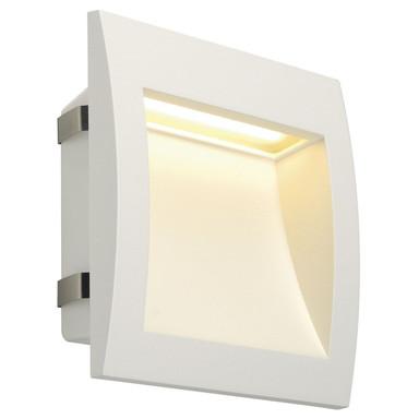 LED Wandeinbauleuchte Downunder Out L, IP55. 3000K, weiss
