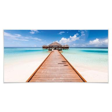 Poster Colombo - Der Weg ins Paradies