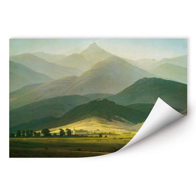 Wallprint Friedrich - Berglandschaft
