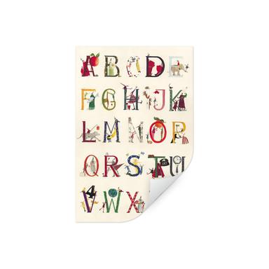 Wallprint Leffler - Das Alphabet