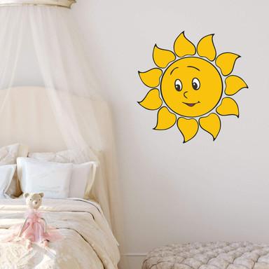 Wandsticker Liebe Sonne