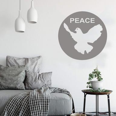 Wandtattoo Friedenstaube