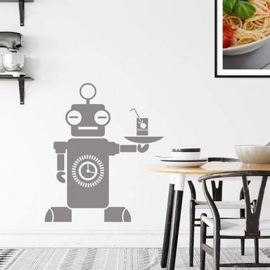 Wandtattoo Roboter James