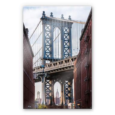Acrylglasbild Colombo - Brooklyn Bridge