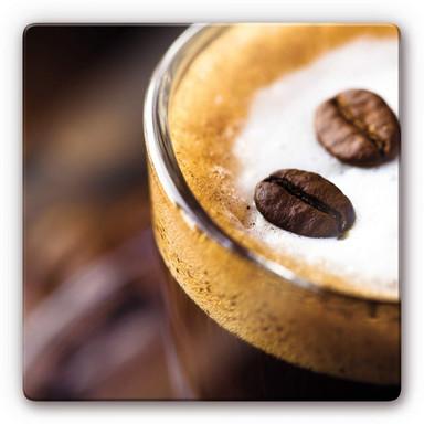 Glasbild Coffee 2