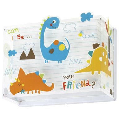 Kinderzimmer Wandleuchte Dinos E27