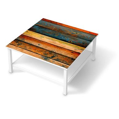 Klebefolie IKEA Hemnes Tisch 90x90cm - Wooden
