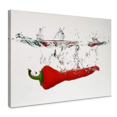 Leinwandbild Chilischote