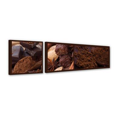 Leinwandbild Schokoladentraum 01 (2-teilig)