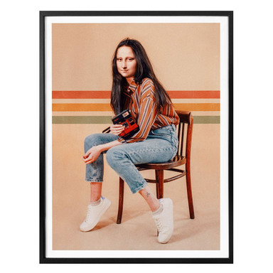 Poster Loose - Retro Mona
