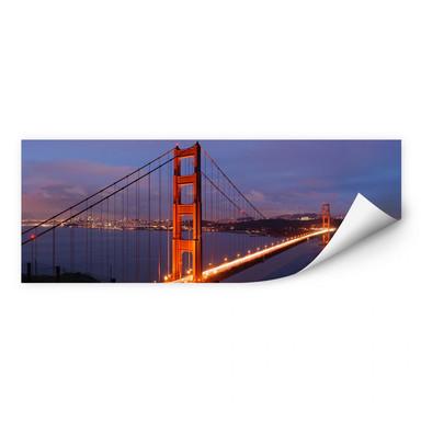 Wallprint Golden Gate Bridge Panorama