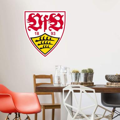 Wandsticker VfB Stuttgart Logo