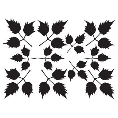 Wandtattoo Blätter-Set 14