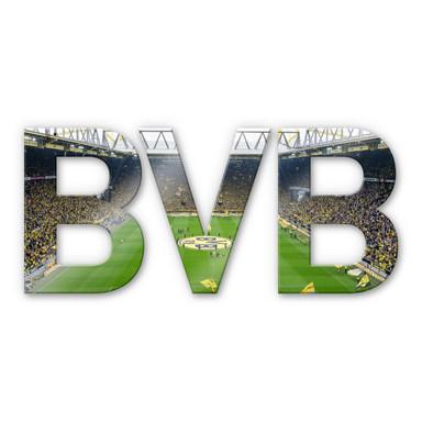 Acrylbuchstaben BVB