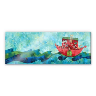 Acrylglasbild Blanz - Arche Noah