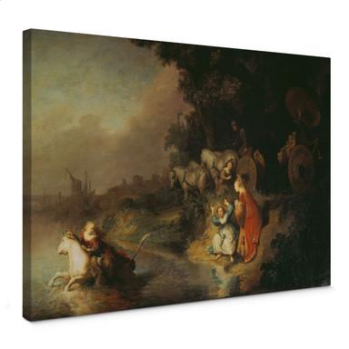 Leinwandbild Rembrandt - Der Raub der Europa