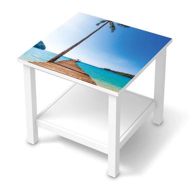 Möbel Klebefolie IKEA Hemnes Tisch 55x55cm - Caribbean- Bild 1