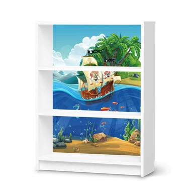 Möbelfolie IKEA Billy Regal 3 Fächer - Pirates