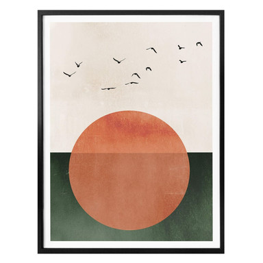 Poster Kubistika - Sommertag