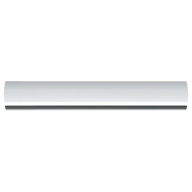 URail Schiene in Weiss 0.1m