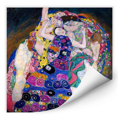Wallprint Klimt - Die Jungfrau