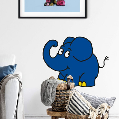 Wandsticker Elefant 03