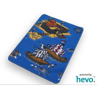 HEVO Piraten Spielteppich 67x92cm